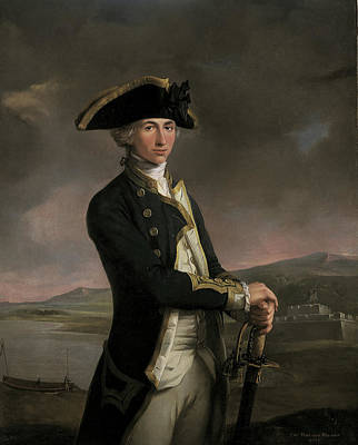 Young Captain Horatio Nelson Art Print by MotionAge Designs