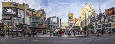 Photograph - Young-dundas Square In Toronto Canada by John McGraw