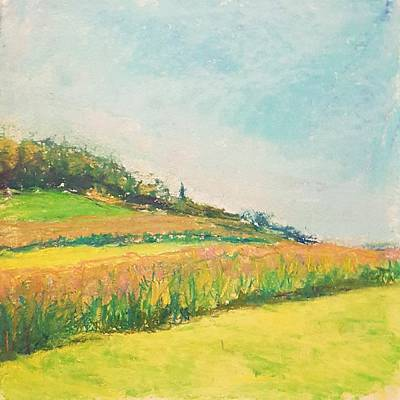 Pastel - Young Farm II by Theresa Peura