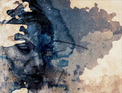 Legend Mixed Media - Young Gifted And Black - Nina Simone  by Paul Lovering
