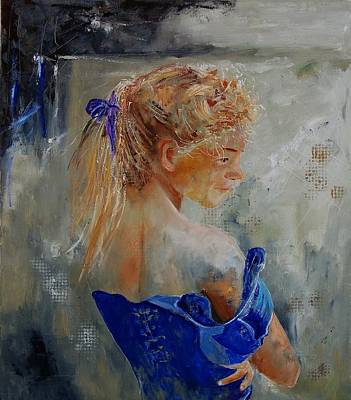 Gir Painting - Young Girl  78 by Pol Ledent