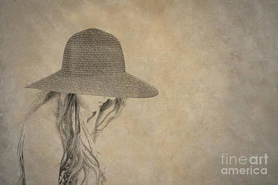 Childrens Books Digital Art - Young Girl In Hat  by Randy Steele