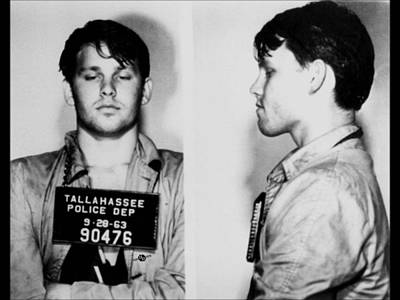 Young Jim Morrison Mug Shot 1963 Photo Art Print