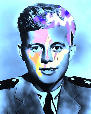 Young Kennedy Artwork Art Print