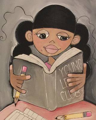 Painting - Young Leaders Club by Deborah Carrie