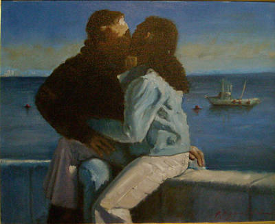 Young Love Art Print by John Reynolds