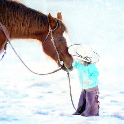 Photograph - Young Love by Phyllis Burchett