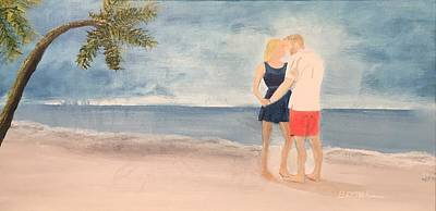 Painting - Young Lovers by David Bartsch