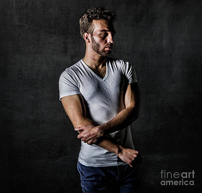 Photograph - Young Man by Diane Diederich