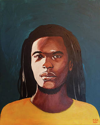 Painting - Young Man by Marilyn Hilliard
