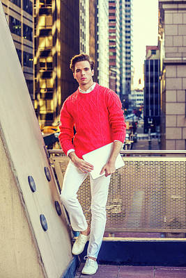 Photograph - Young Man Urban Fashion 15041239 by Alexander Image