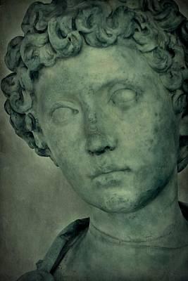 Photograph - Young Marcus Aurelius Closeup by Patricia Strand
