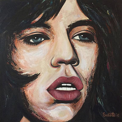 Young Mick Original by Suzette Castro