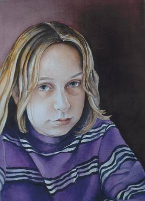 Painting - Young Mo by Barbara Pease