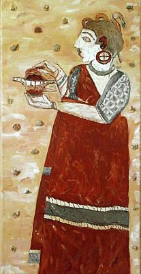 Young Priestess Original