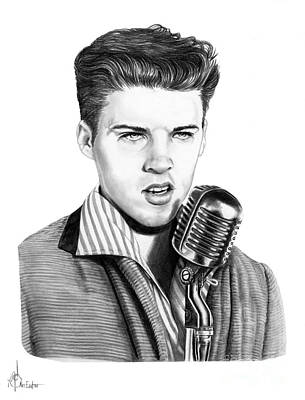 young Ricky Nelson Original by Murphy Elliott