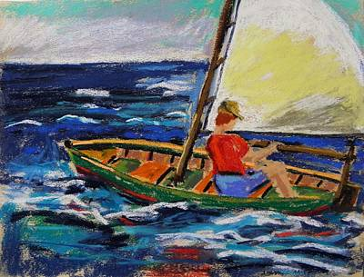 Art Print featuring the painting Young Sailor by John Williams