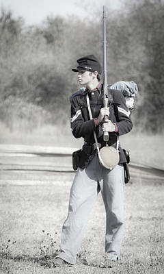 Photograph - Young Soldier II by Athena Mckinzie
