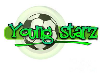 Starz Digital Art - Young Starz by Saunders Seraphin