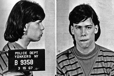 Photograph - Young Steven Tyler Mug Shot 1963 Pencil Photograph Black And White by Tony Rubino