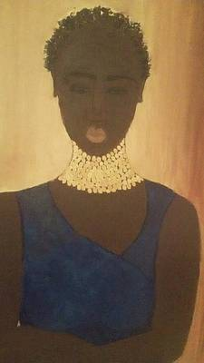 Young Sudanese Woman Art Print by Susan Madison