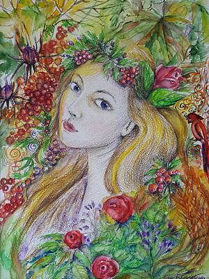 Painting - Young Summer  by Rita Fetisov