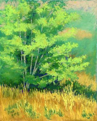 Landscape Painting - Young Tree by David King