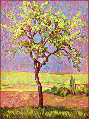Digital Art - Young Tree by Gary Grayson