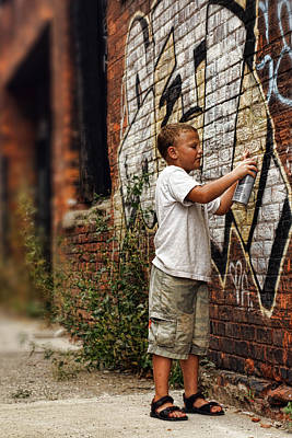 Photograph - Young Vandal by Gordon Dean II