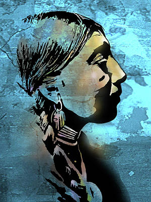 Painting - Young Wishram Woman by Paul Sachtleben