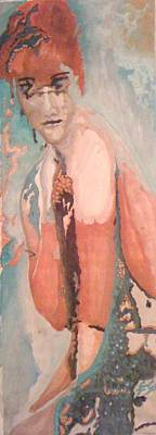 Painting - Young Woman by Gyorgy Szilagyi