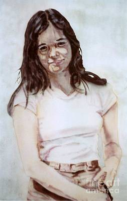 Painting - Young Woman by Ron Bissett
