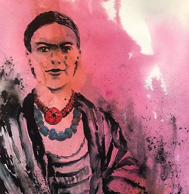 Painting - Younq Frida by Tara Moorman