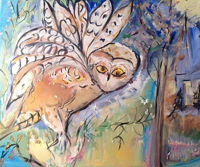 Painting - Your A Hoot  by Judith Desrosiers