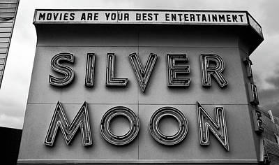 Silver Moon Drive In Photograph - Your Best Entertainment by David Lee Thompson