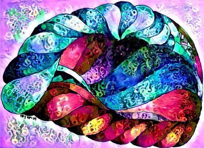 Digital Art - Your Brain On Art 2 by Megan Walsh