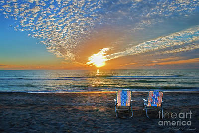 Photograph - Your Chair Awaits by David Arment