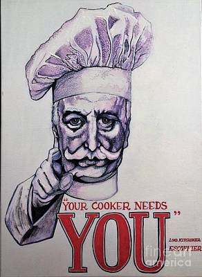 Painting - Your Cooker Needs You by Michelle Deyna-Hayward