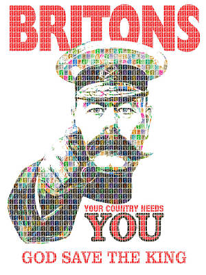 Your Country Needs You - Digital Original by Gary Hogben