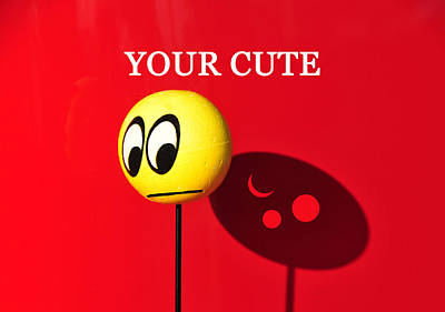 Photograph - Your Cute by David Lee Thompson