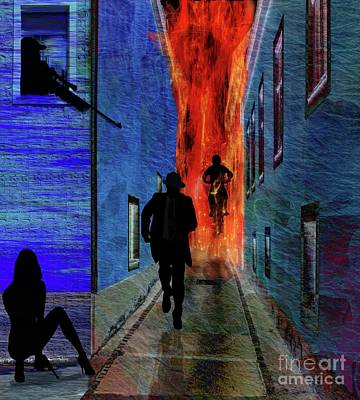 Digital Art - Your Fired by Sydne Archambault