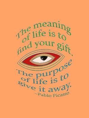 Your Gift Art Print