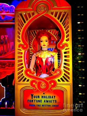 Digital Art - Your Holiday Fortune by Ed Weidman