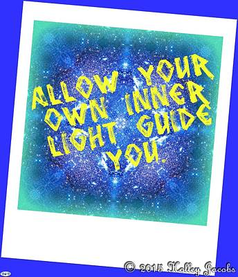 Digital Art - Your Inner Guide by Holley Jacobs