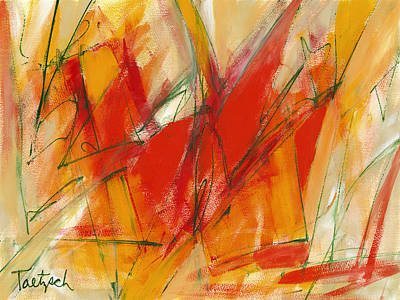 Abstract Painting - Your Intense Fragility by Lynne Taetzsch