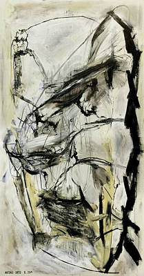 Baselitz Painting - Your Kid Can't Do This by Antonio Ortiz