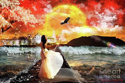 Prophetic Art Digital Art - Your Kingdom Come by Dolores Develde