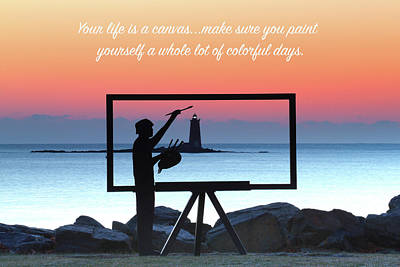 Photograph - Your Life Is A Canvas by Robbie George