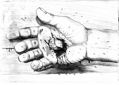 Your Life Is In His Hands Art Print by Randall Easterling