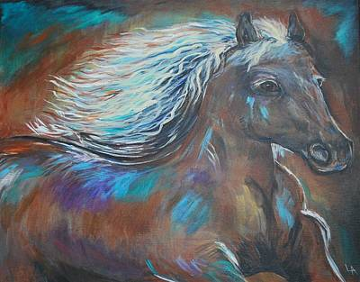 Painting - Your Majesty by Leslie Allen